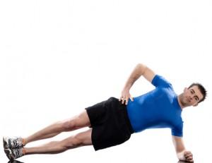 Abdominals workout posture